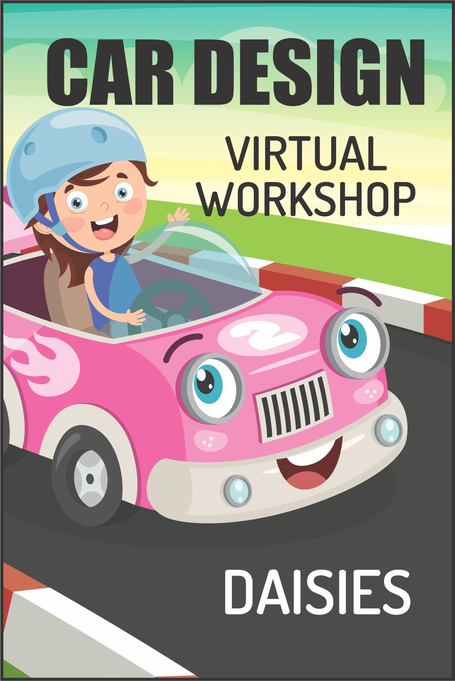 Rev up your engines and join us for our Daisy Car Design Badge Workshop! #makingfriends #cardesign #virtualworkshop #onlineclass #girlscouts #daisy #daisies #gsdaisy #daisycardesign #funpatch #girlscoutpatches via @gsleader411