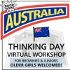Virtual Thinking Day Workshop for Australia