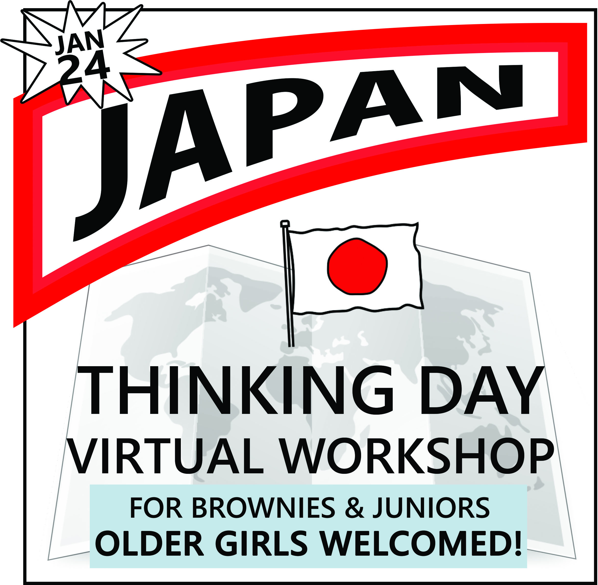 Virtual Thinking Day Workshop for Japan