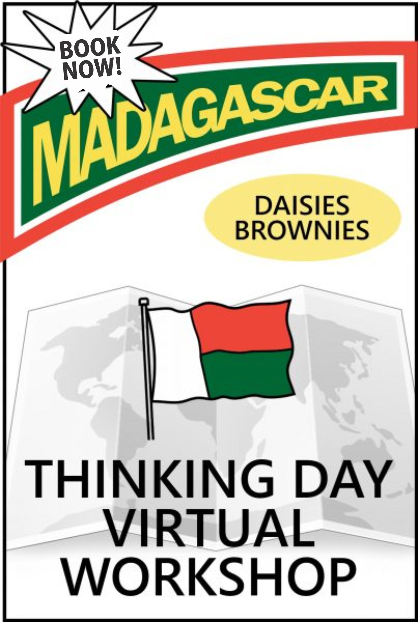 Join us for our Madagascar Thinking Day Virtual Event on zoom! The price includes supplies and an embroidered patch! #madagascar #thinkingday #onlineclass #virtualgirlscouts #virtualthinkingday #daisies #brownies #makingfriends #mf #scoutingfromhome #girlscouts #scouts via @gsleader411