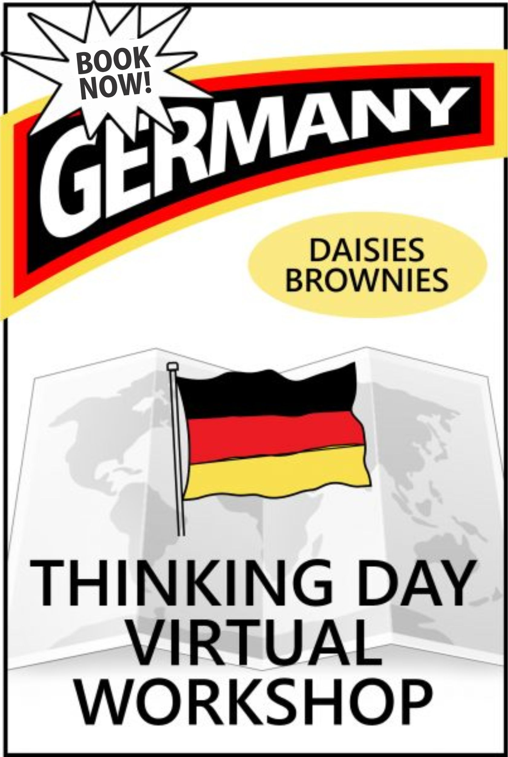 A virtual workshop, loaded with activities to keep your girls engaged and teach them about Germany for Thinking Day. #makingfriends #virtualclass #thinkingday #virtualworshop #onlineclass #germany #thinkingdayworkshop via @gsleader411