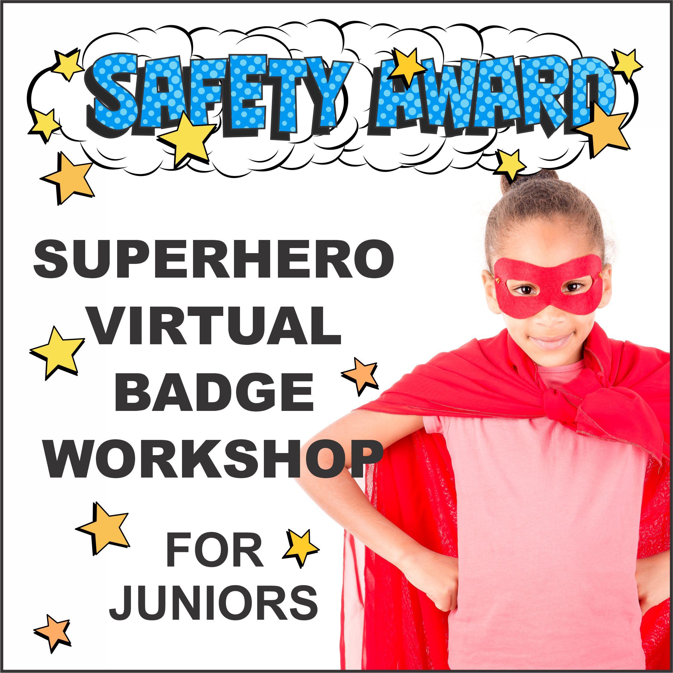 Virtual Girl Scout Workshop Junior Safety Award