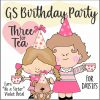 Girl Scout Birthday Tea Party Virtual Workshop