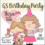 Girl Scout Birthday Tea Party Virtual Workshop