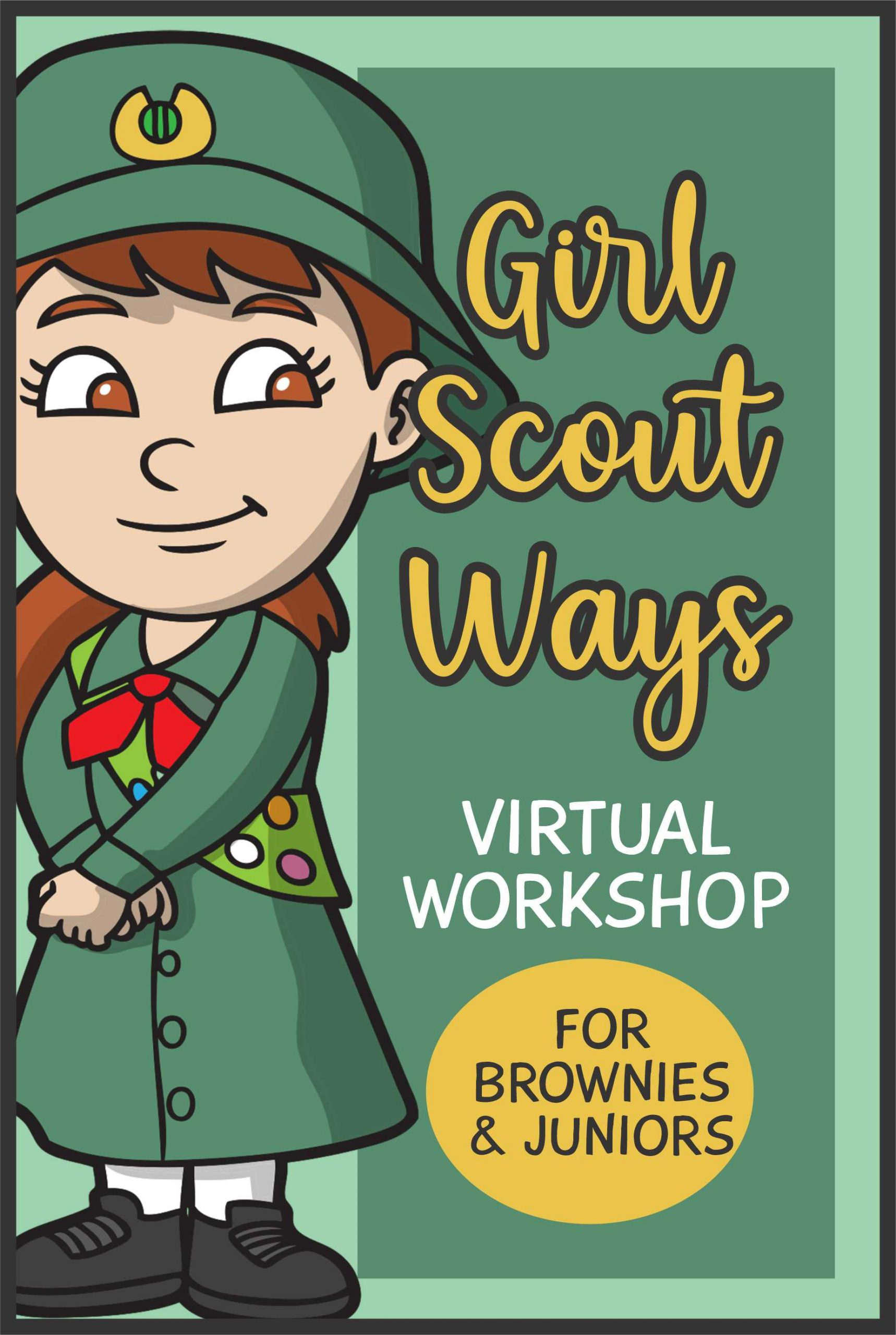 Join us for our Girl Scout Ways virtual Workshop during Girl Scout Week! Fun and engaging for Brownies and Juniors! #makingfriends #girlscoutways #gsways #virtualworkshop #girlscouts #girlscoutweek #girlscoutweek2021 #gsfunpatch #brownies #juniors via @gsleader411