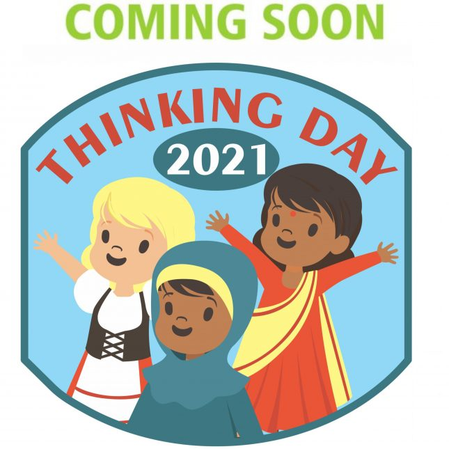 Celebrate 2021 World Thinking Day with this cute international patch! $.69 each with free shipping available! #makingfriends #worldthinkingday #thinkingday #funpatch #gspatch #girlscouts #girlscoutpatch via @gsleader411
