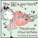 Girl Scout philanthropist Workshop for Valentine's Day