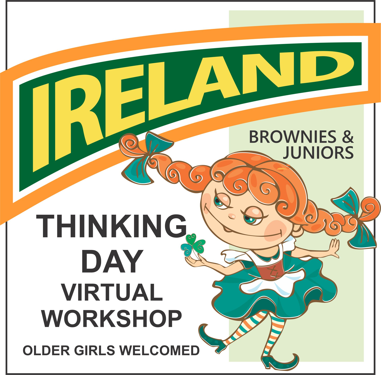 virtual thinking day workshop for Ireland