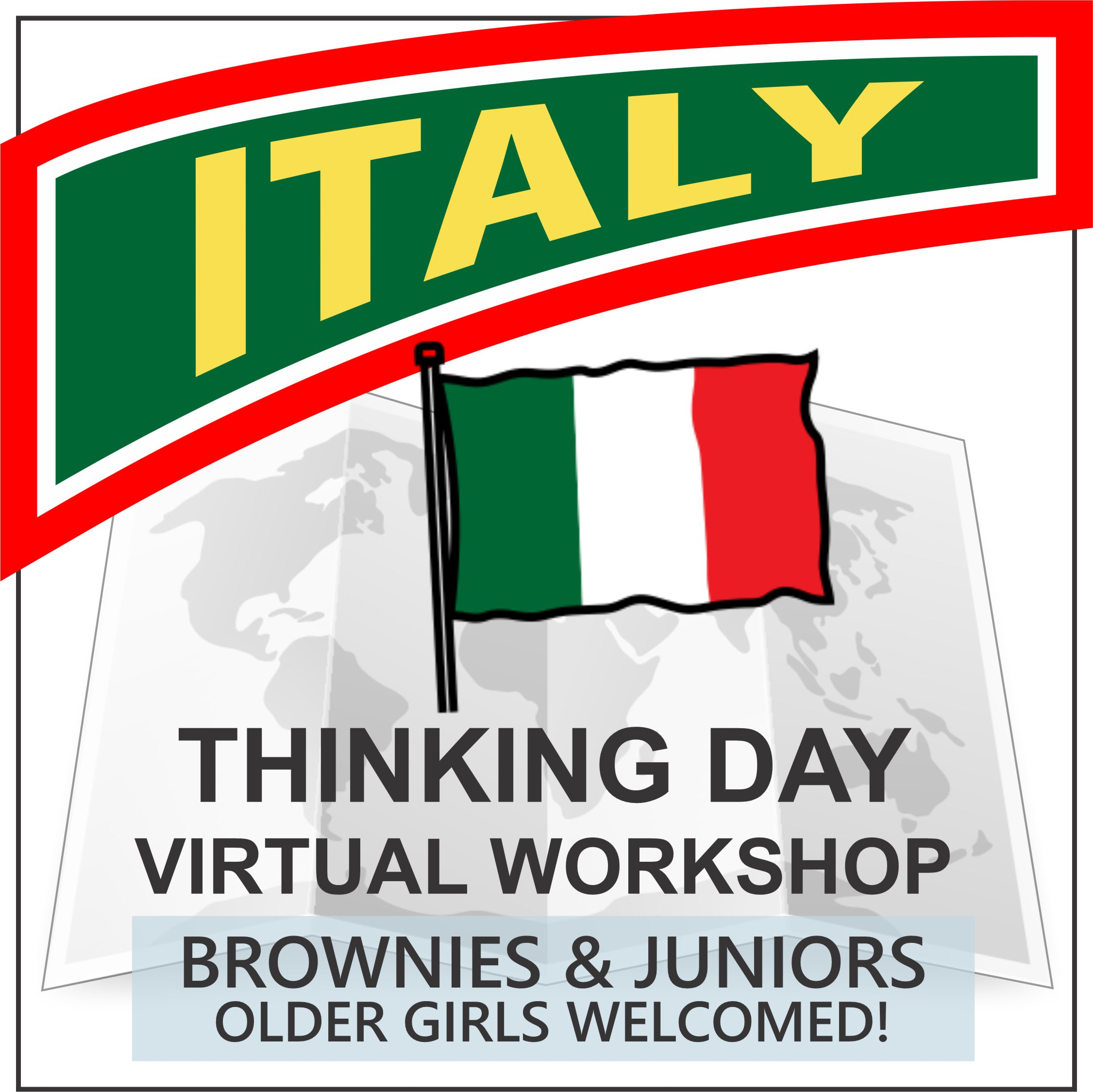 virtual thinking day workshop for Italy