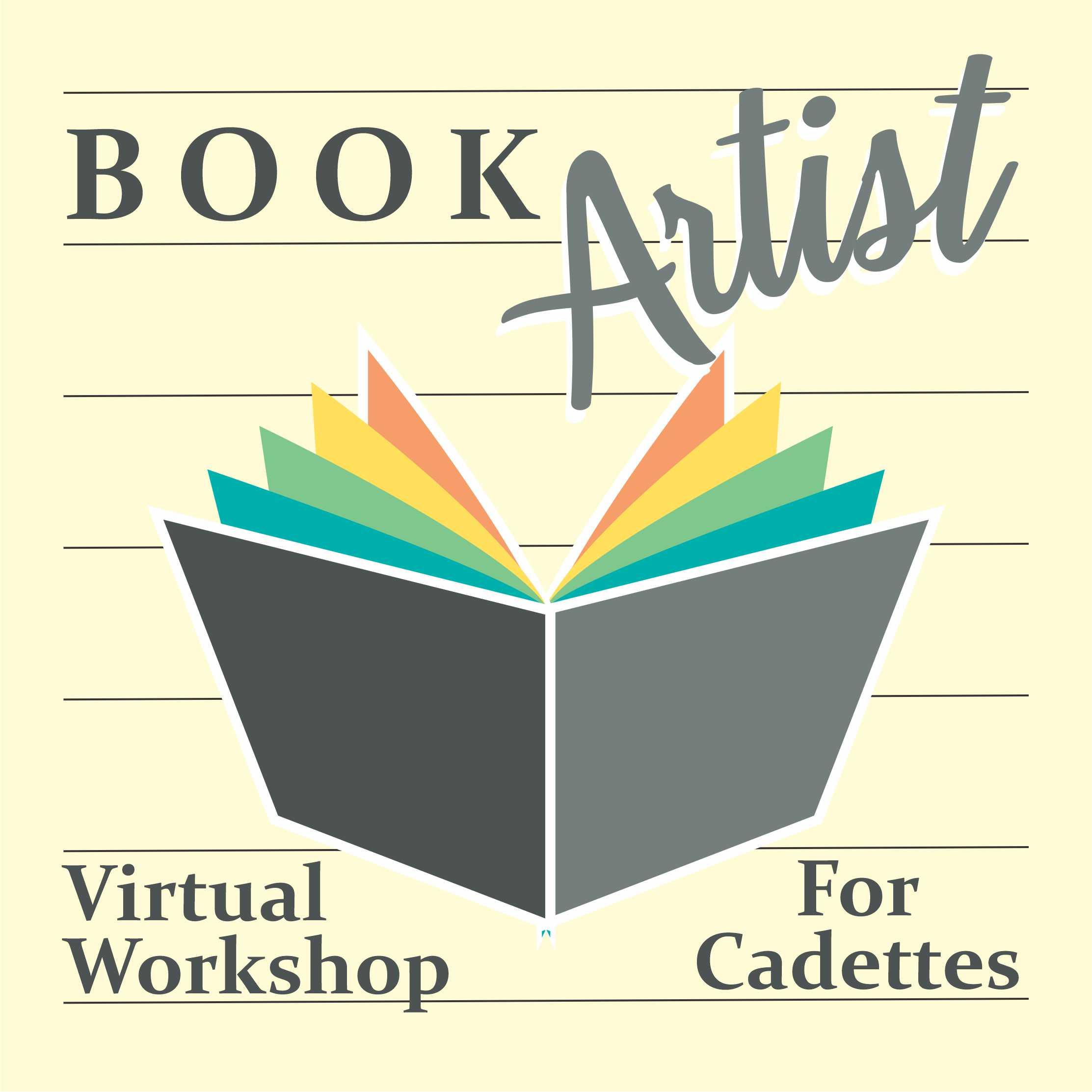 Girl Scout Book Artist Virtual Workshop for Cadettes