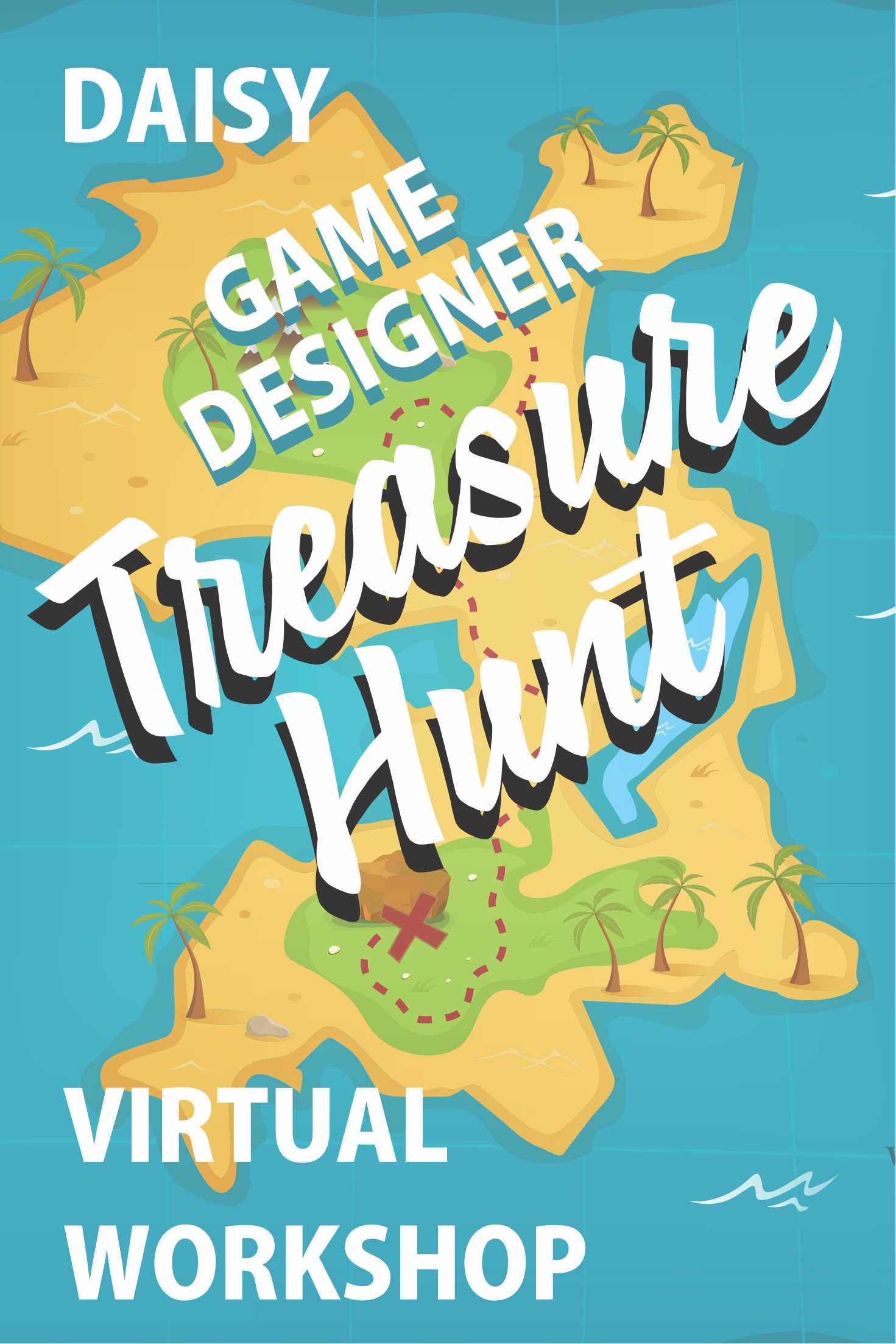 Girl Scout Game Design Treasure Hunt Virtual Workshop via @gsleader411