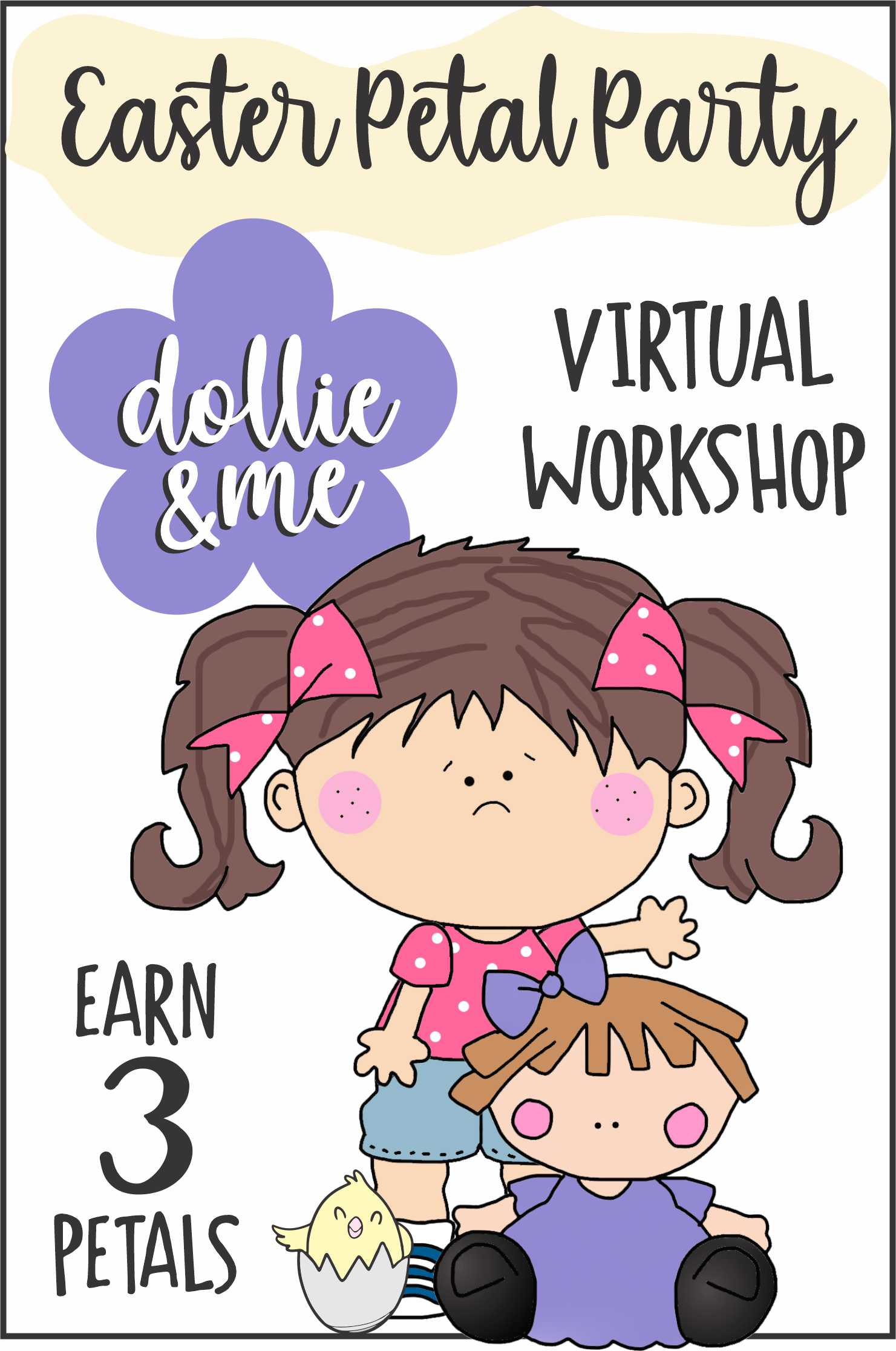 Easter Petal Party Virtual Workshop for Daisies via @gsleader411