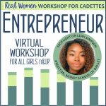 Girl Scout Entrepreneur Real Woman Virtual Workshop for Cadettes