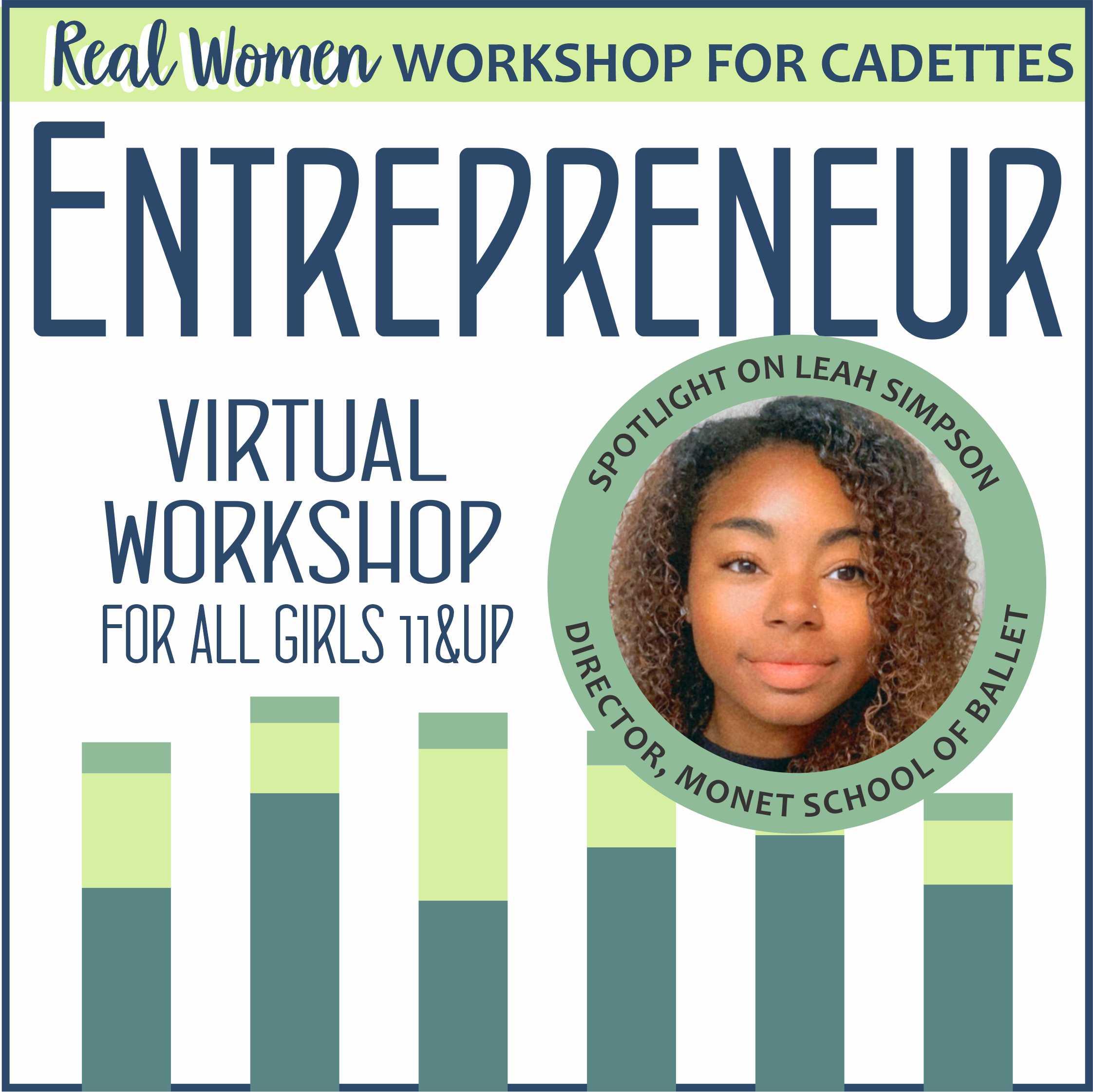 Girl Scout Entrepreneur Real Woman Virtual Workshop for Cadettes