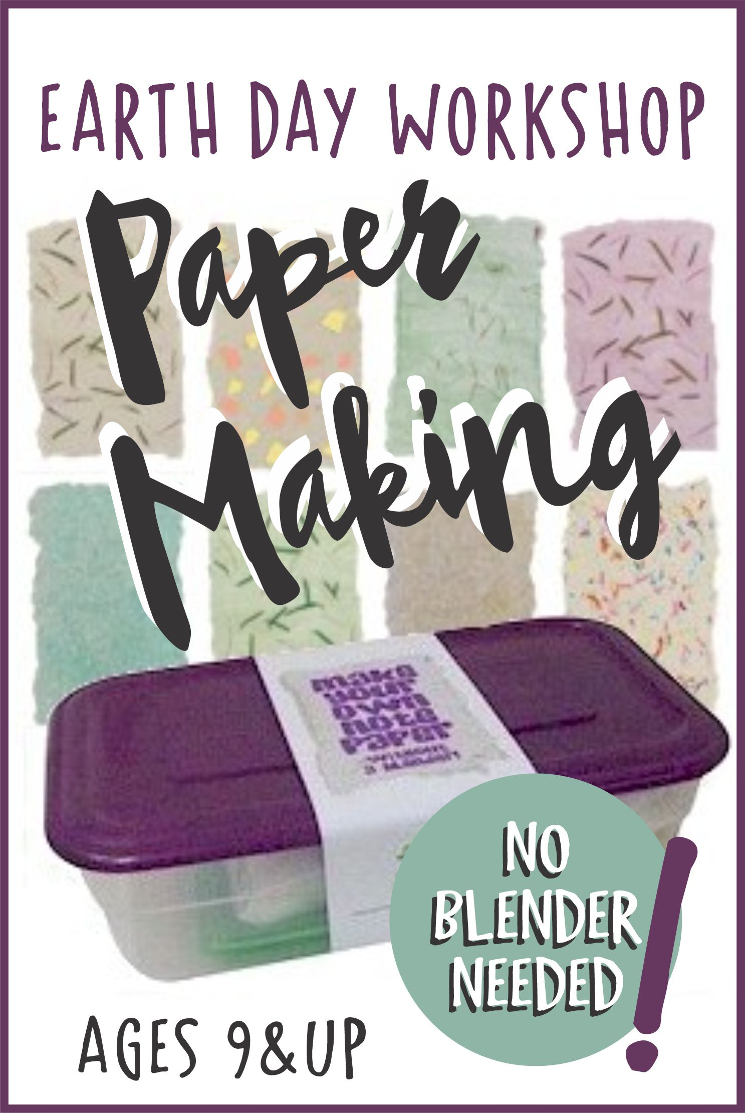 Join us for our Paper Making Virtual Workshop for Girls and Adults 9 & Up! Wow! learn how to make paper without a blender! #makingfriends #papermaking #paper #recycle #onlineworkshop #virtualclass #workshop #girlscouts #girlscoutsonline #girlscoutworkshop #funpatch #funclass via @gsleader411