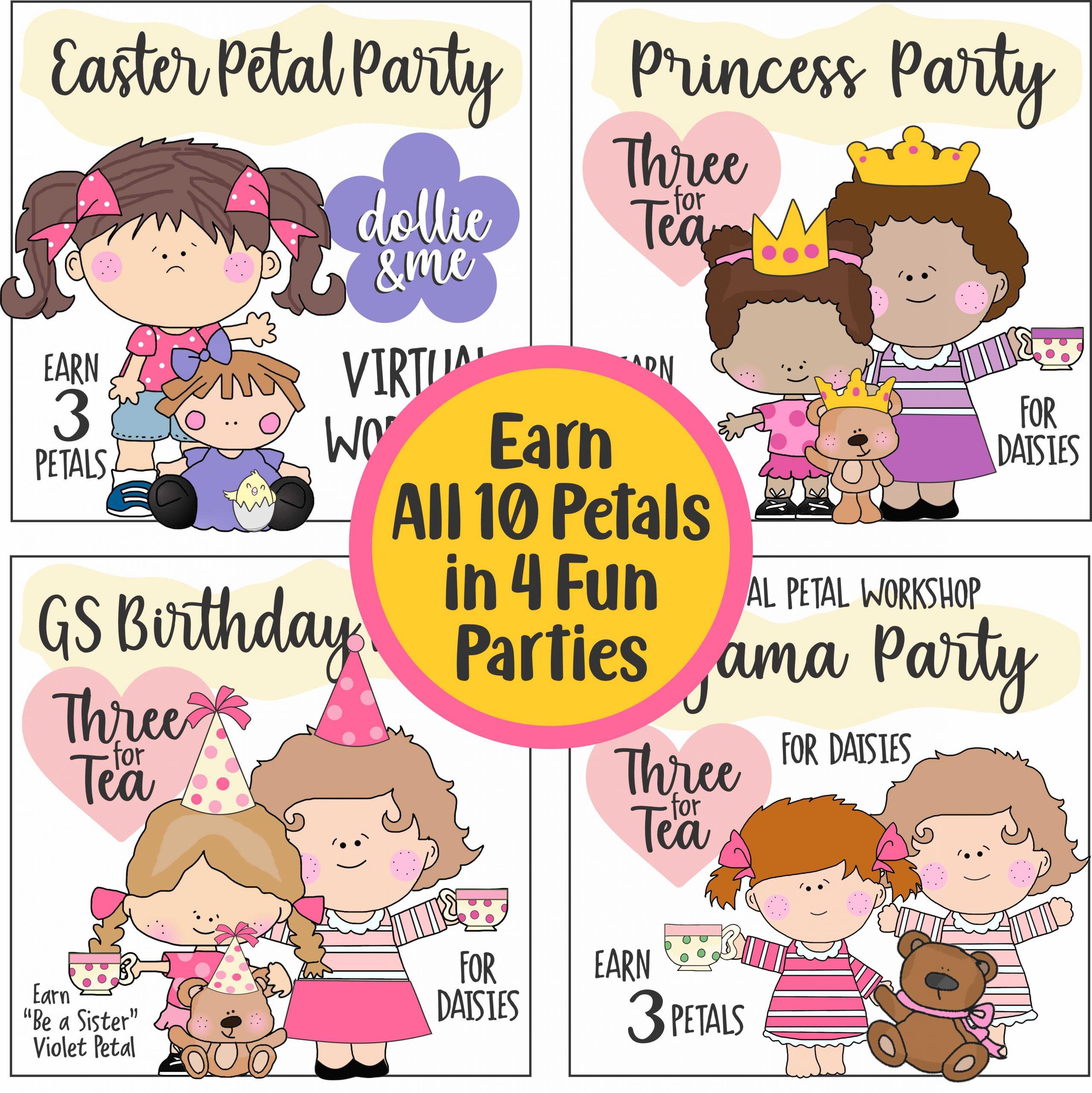 Daisy Tea Parties for Petals