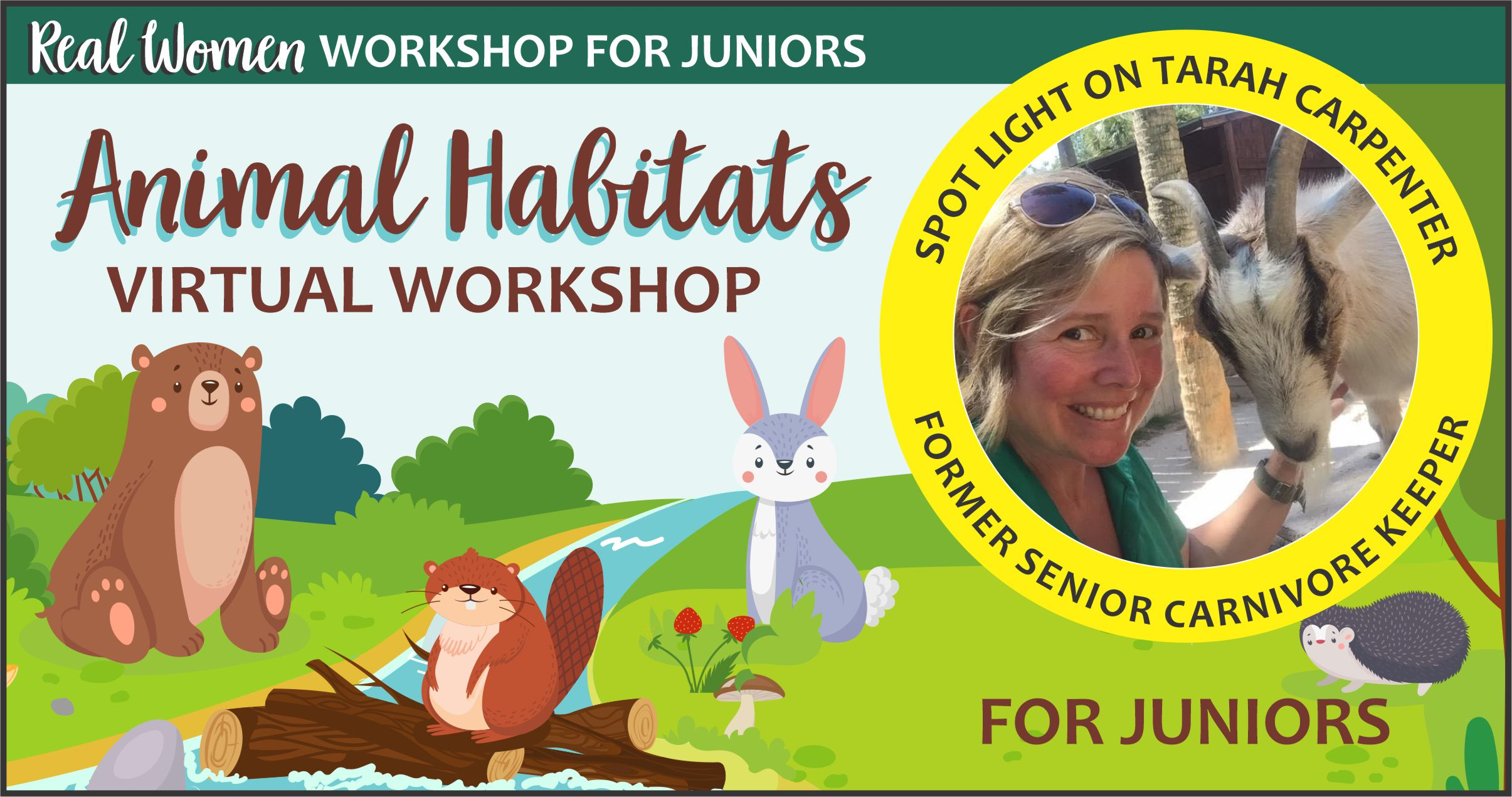 Junior Girl Scout Animal Habitats Workshop