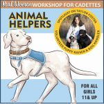 Girl Scout Animal Helpers Badge Virtual Workshop for Cadettes