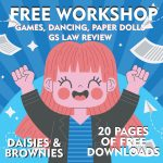 Free Girl Scout Workshop for Daisies and Brownies