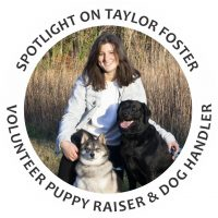 Taylor foster, guide dog puppy raiser