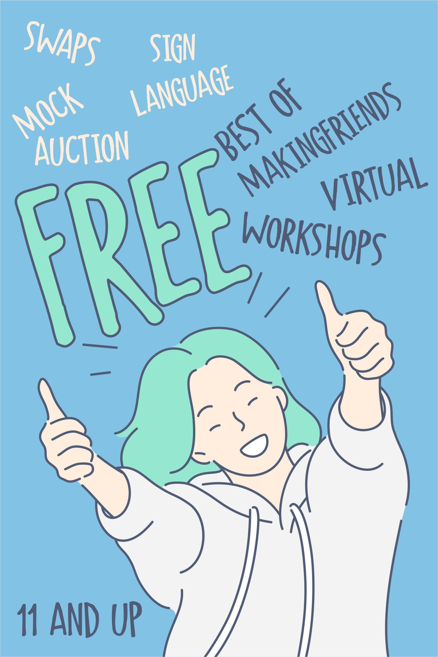 Girl Scout Best of Making Friends Virtual Workshop via @gsleader411