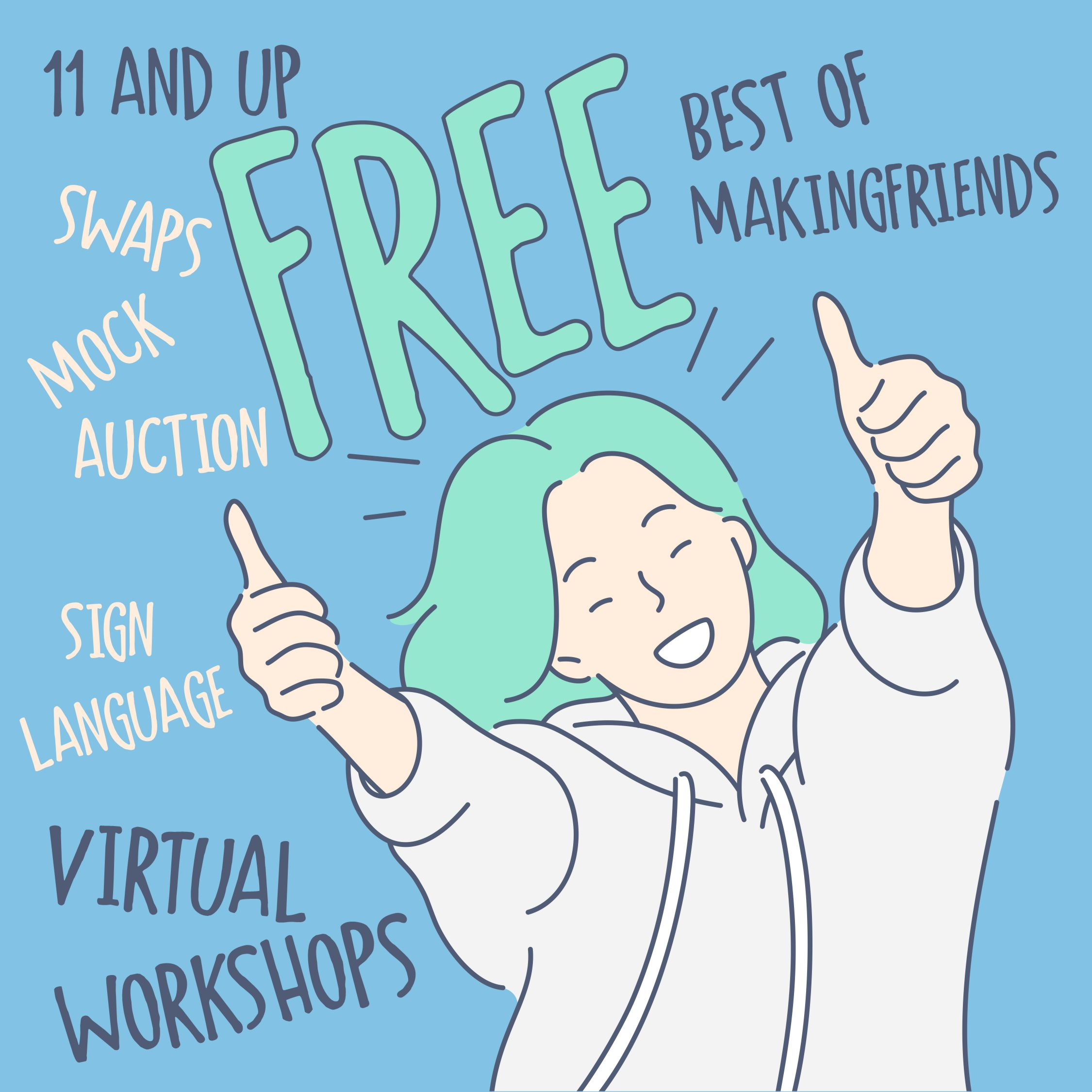 Girl Scout Best of Making Friends Virtual Workshop