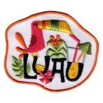 Girl Scout Luau Fun Patch -- Toucan