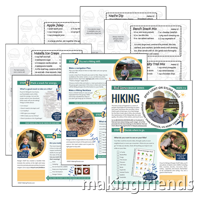 Girl Scout Real Women Hiking Download via @gsleader411