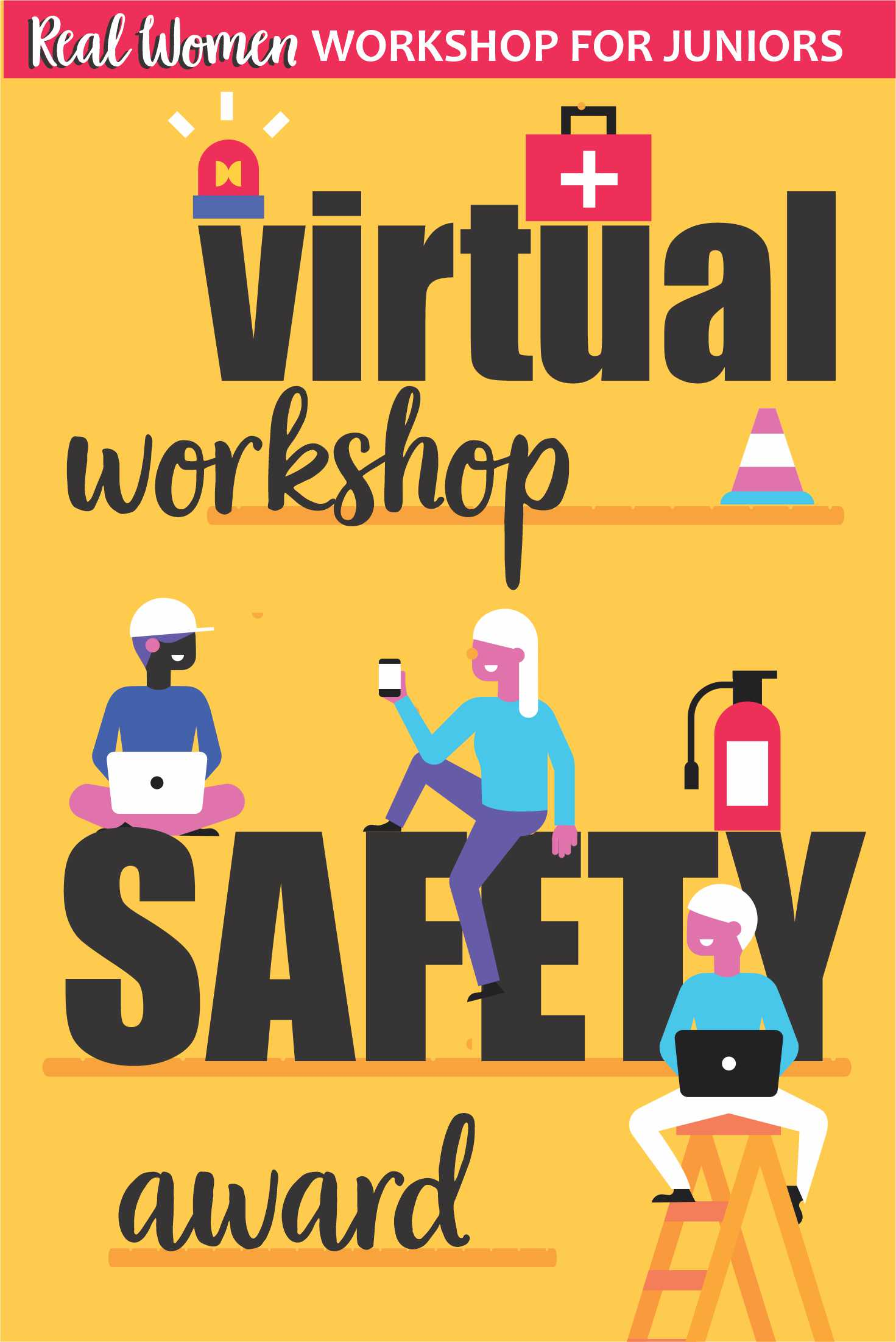 Girl Scout Virtual Safety Award for Juniors via @gsleader411