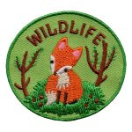 Girl Scout Wildlife Patch -- Fox