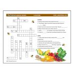 Girl Scout Locavore Crossword