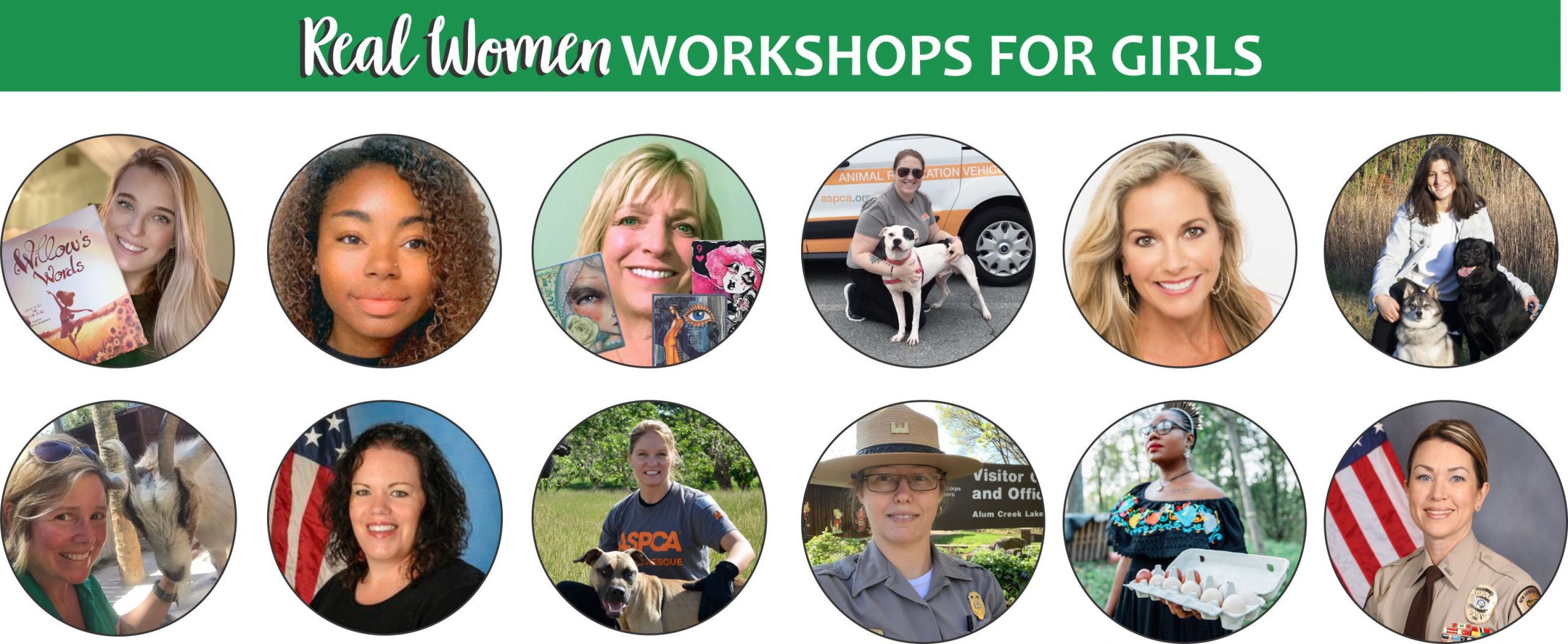 Girl Scout Real Woman Downloads & Workshops