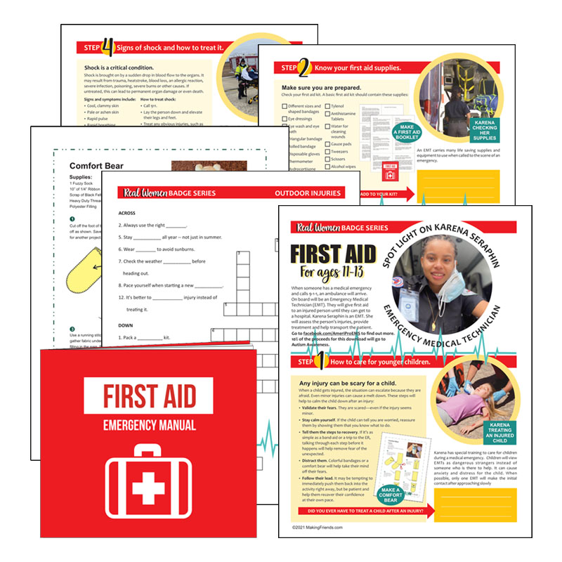 Girl scout Cadette First Aid Download