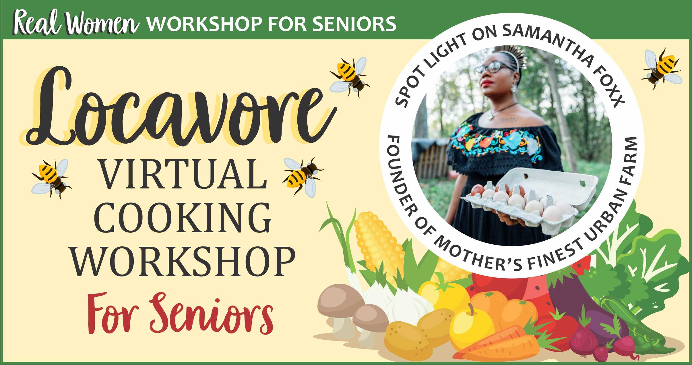 Girl Scout Locavore Virtual Workshop for Seniors