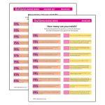 Girl Scout Musician Decades Worksheet