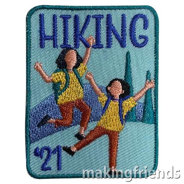 Hiking 2021 Patch via @gsleader411