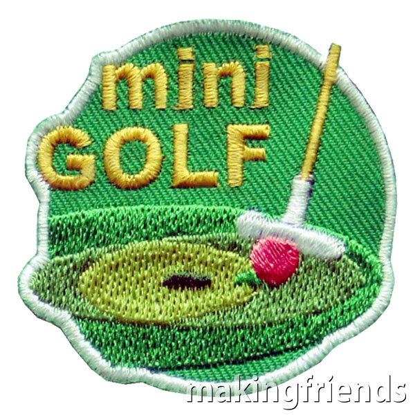 Mini Golf Patch via @gsleader411