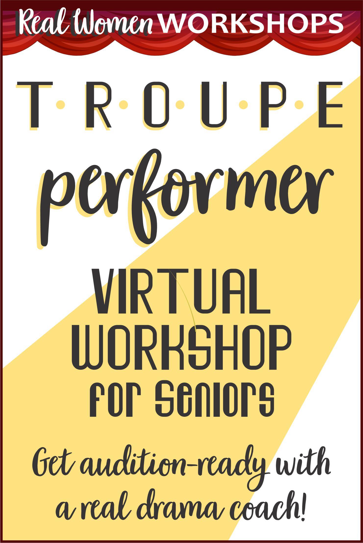 Girl Scout Troupe Performer Virtual Badge Workshop via @gsleader411