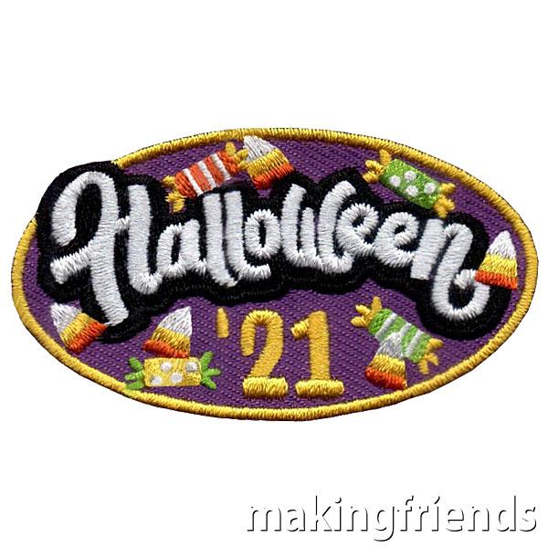 Halloween 2021 Patch via @gsleader411