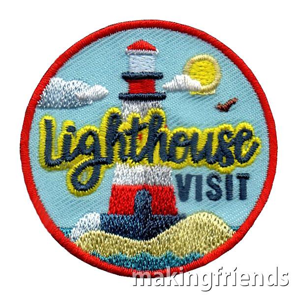 Lighthouse Visit Patch via @gsleader411