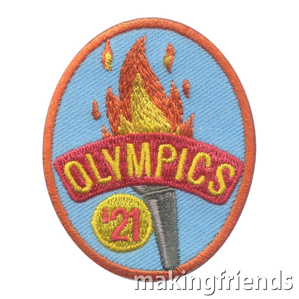 Girl Scout 2021 Tokyo Summer Olympics Patch via @gsleader411