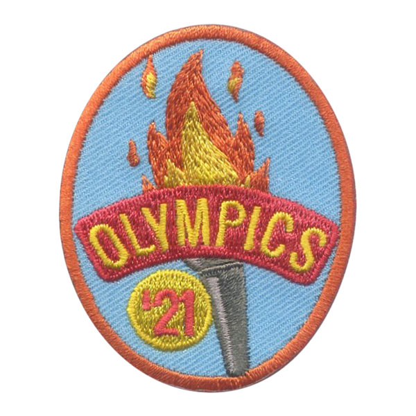 Girl Scout 2021 Tokyo Summer Olympics Patch