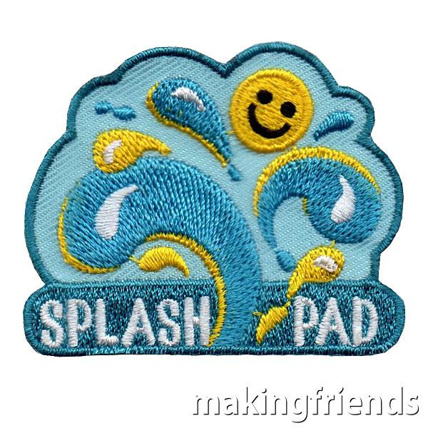 Splash Pad Patch via @gsleader411