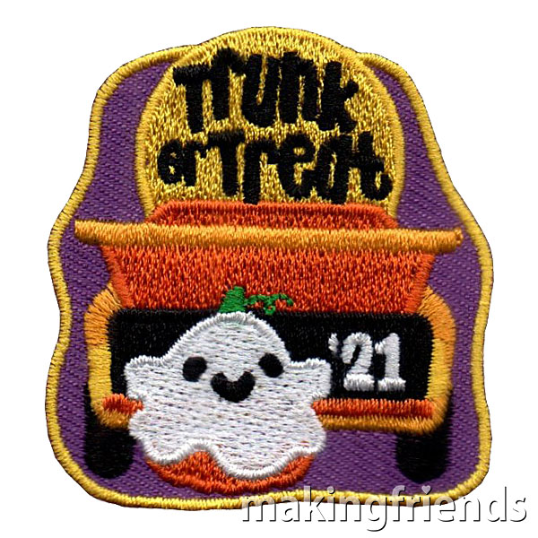 Trunk or Treat 2021 Patch via @gsleader411