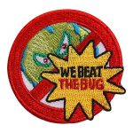 Girl Scout We Beat the Bug Fun Patch