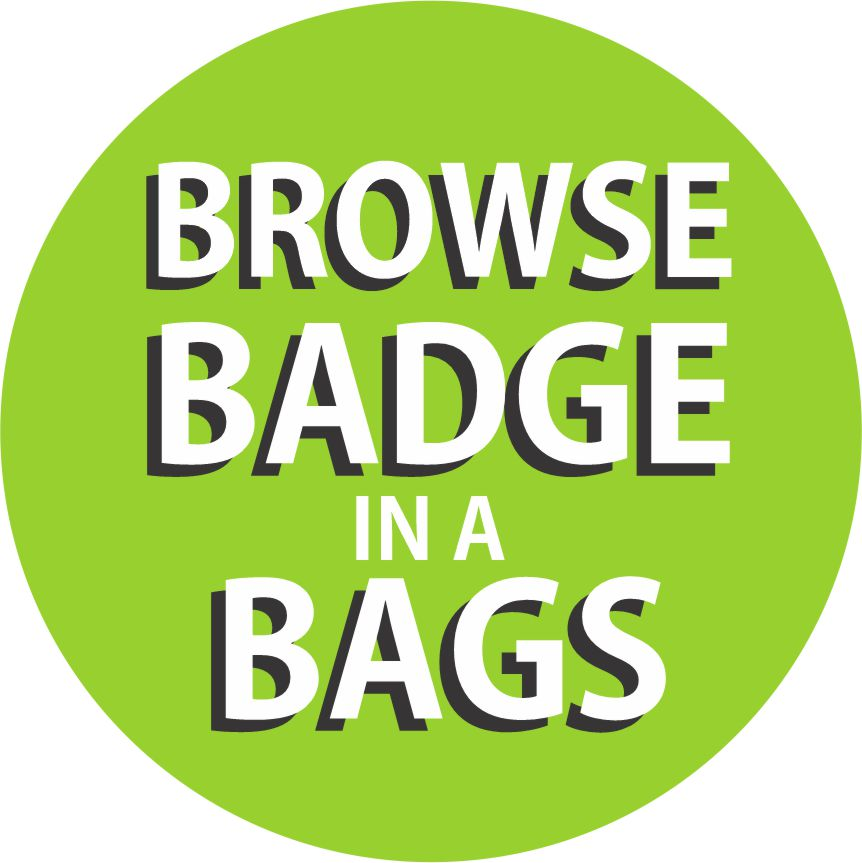 Girl Scout Badge in a Bags
