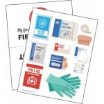 Girl Scout Cut and Paste First Aid Kit